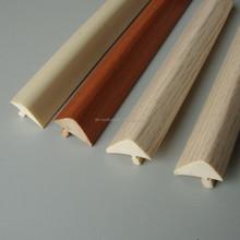 Shanghai Profile T for Edging Protection, Pvc Molding Trim