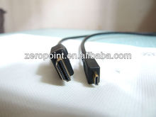 1080P Gold Plated V1.3 Mini HDMI Male tO HDMI Male cable for ps3 HDTV Xbox360