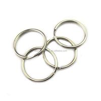 Fashion High Quality Metal Key Ring Chain Loop