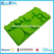 La fda de caucho de silicona de microondas para hornear la torta del molde, molde para galletas