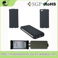 Tpu Pu Leather Wallet Mobile Phone Flip Case For iPhone 5