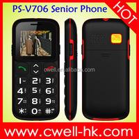 V706 Big Keyboard senior citizen mobile phone 1.77 Inch TFT Screen Dual SIM Card FM Radio Bluetooth
