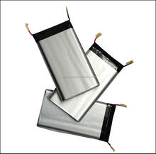 Consumer electronics soft package lithium ion battery in customized and OEM