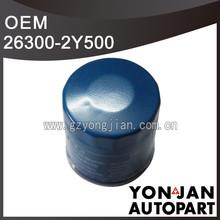 Genuine Korea car oil filter 26300-2Y500 filter for oil