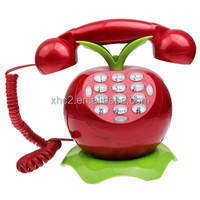 Wholesale cute cartoon style Wire Corded Telephone