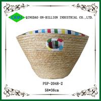 Wholesale china direct natural straw woven shopping eco friendly bag