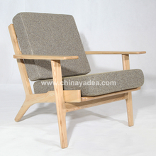 American style wood furniture plank chair home furniture