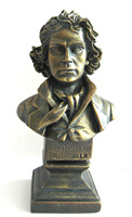 DEDO high quality resin head sculpture of Beethoven