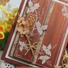 high quality hot sale wedding cards in lahore/wedding invitation card