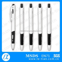 LT-Y989 wholesale plastic slogan ballpoint pen for advertising