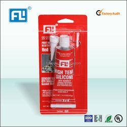 Red RTV silicone car adhesive glue