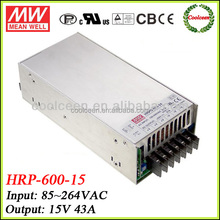 Meanwell HRP-600-15 ac to dc switching power supply 15v