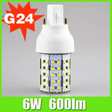 Bbier New Design High Quality G24 6W Garage LED Retrofit Lighting