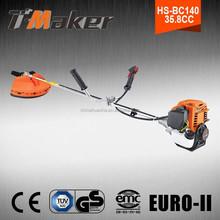 Single cylinder 35.8CC garden weeding tool ,garden tool products grass trimmer