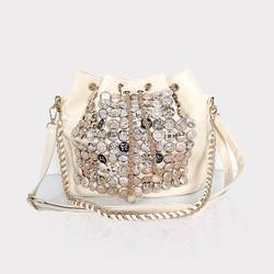 Chain bag,crystal evening bag,diamond handbags