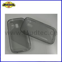 S Line Design,TPU Gel Case for Samsung Galaxy Ace 2 i8160,Wave Soft Case Cover,fast delivery----Laudtec