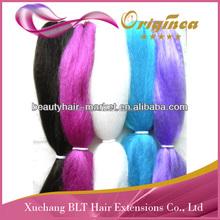 100 kanekalon jumbo braid synthetic hair ultra Jumbo braids kanekalon braiding hair wholesale