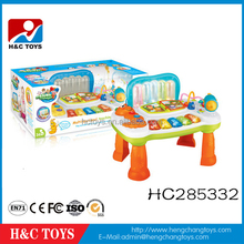 children cartoon study desk cheap plastic kids study table HC285332