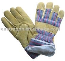 """10.5"""" AB Pig Split Full Palm Leather Gloves"""