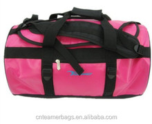 2015 waterproof laminated PVC travelling sports backpack bag