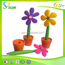 Wholesale cheap office and school supplies funny diy flower pen