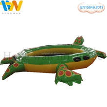 Inflatable popular water float ''turtle'' pool and sea water game