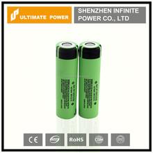 Hot sale!!! Genuine high capacity 3400mah panasonic ncr18650b 3.6v li-ion cell for panasonic 18650 battery