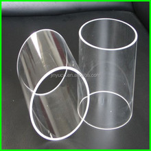 Large Diameter Quartz Glass Tube ,Quartz Tube Reactor, Quartz Test Tube