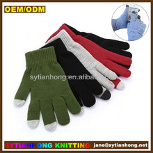 Glove factory customize smart touch outdoor thin magic gloves