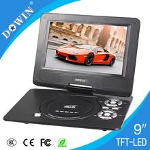 Fabricación venta al por mayor del OEM niza calidad USB TV juego SD FM video precio atractivo reproductor de DVD portátil precio barato función completa