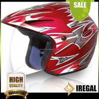 German Style Brown Motorcycle Helmet For Sale