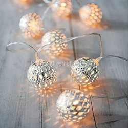 20 LED magic Ball Solar Powered Outdoor String Lights for Outside Garden Patio Party Christmas
