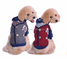 Warm Winter Dog Coats with 2 Legs Jean Dog Winter Jacket Wholesale dog clothes / pet clothes / dog apparel