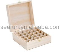 essential oil small wooden cardboard packaging box