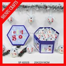 stainless christmas ornament hooks for balls
