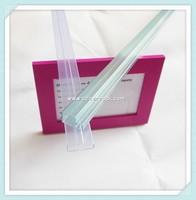 Square Hollow Plastic Tube Transparent PVC Pipe PVC Packing Tubes