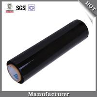 Black LLDPE Stretch Film Thick Plastic Sheeting Roll