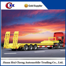 Low loader truck trailer lowbed trailer made in China