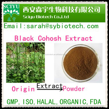 GMP factory supply black cohosh herb powder