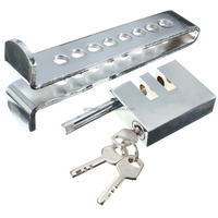New Arrival Auto Anti-theft Device Clutch Lock Car Brake Stainless Strong Security Lock Tool