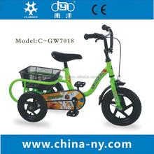 12 inch GW7018 three wheel dirt bike for kids
