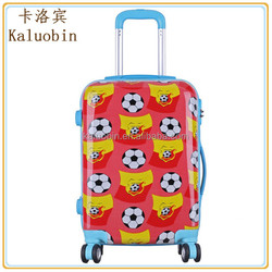 """pattern custom abs+pc 4 wheels 20"""" waterproof casual travel cheap and pattern luggage/kids cartoon luggage/on sale luggage"""