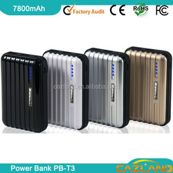 Pink Color universal portable power bank portable battery power bank for iphone 4S/ipad blackberry