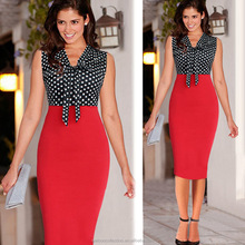 Ladies office Bodycon Dress Women Formal Party Business Bodycon Pencil Dress