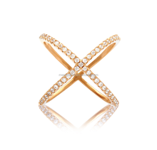 2015 fashion Purity 14k Solid gold latest gold finger ring designs for women