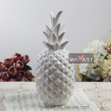 Wholesale White Ceramic Pineapple of Pineapple Christmas Decorations