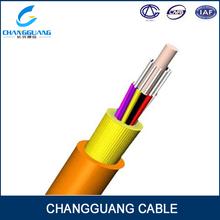 Apretado de distribución interior buffer de fibra óptica cable( gjfjv)