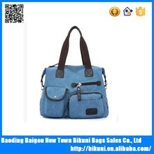 Hot selling Korea fashion promotional women bag canvas tote bag made in China