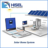 HiSEL Competitive Price solar inverter 4000va and solar panel