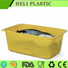 Disposable Plastic frozen fish/beef/fork container